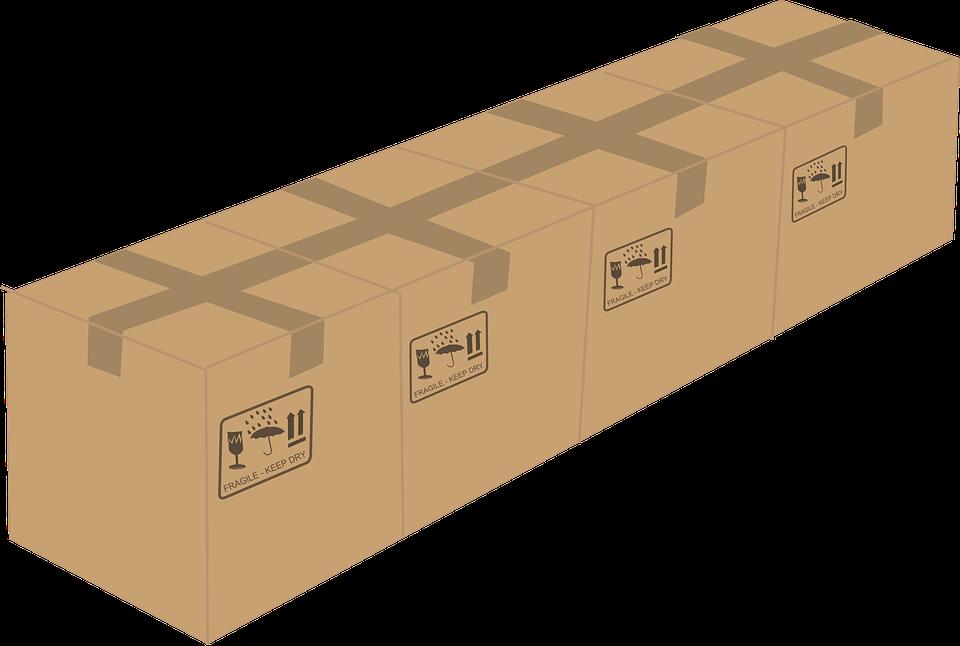 čtyři krabice