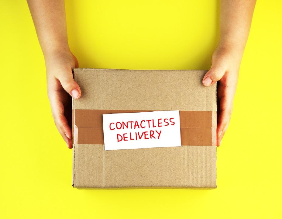 doručení balíku